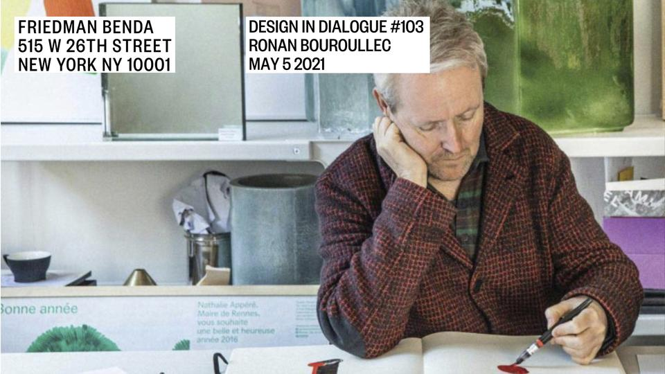 Episode 103: RonanBouroullec May 5, 2021...