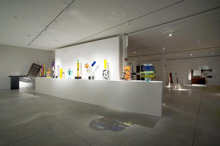 Installation view. Ettore Sottsass: New Work 2005-...