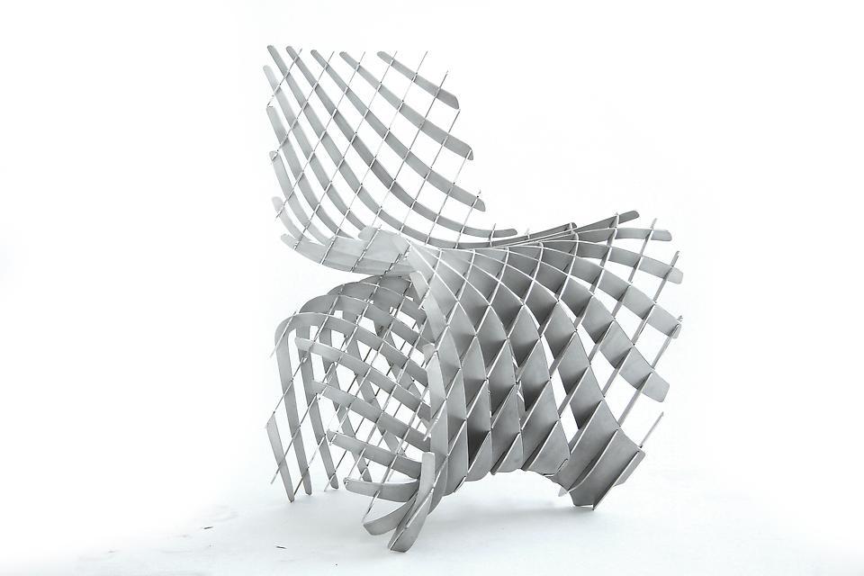 Maker Chair (Mesh), 2014 Magnesium 31.5 x 23.62 x...