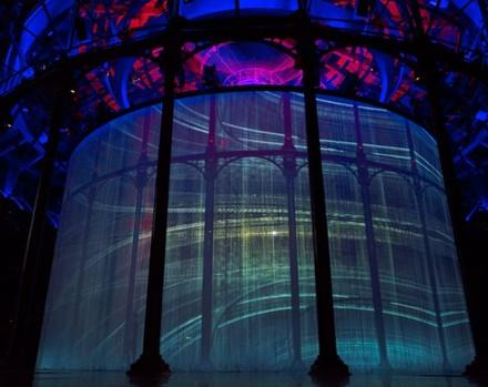 Ron Arad's Curtain Call. Roundhouse, London, U...
