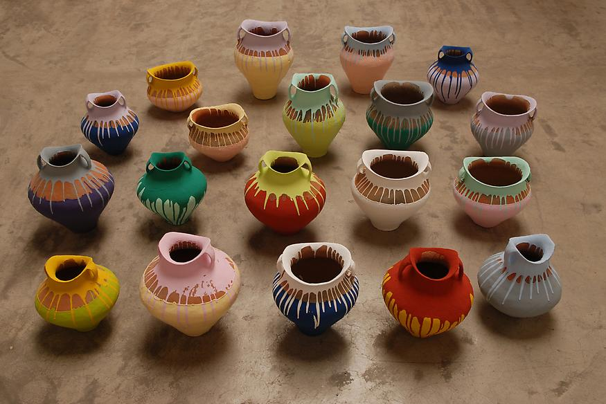 Colored Vases, 2007-2010