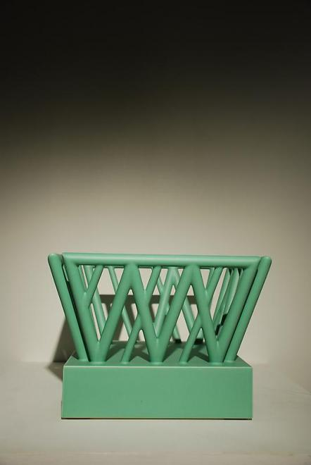 Lazd, 1989 Earthenware 9.45 x 13.39 x 13.39 inches...