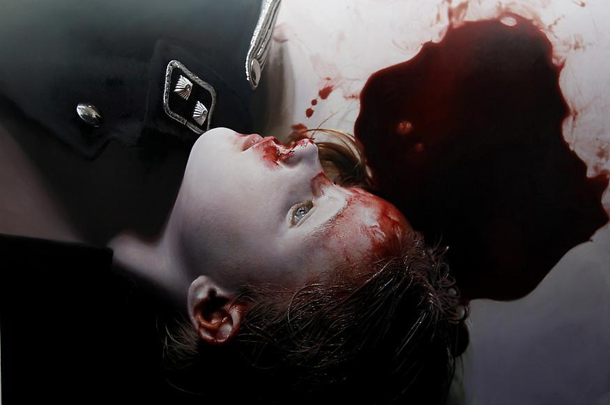 The Murmur of the Innocents 16, 2010 Oil & acrylic...