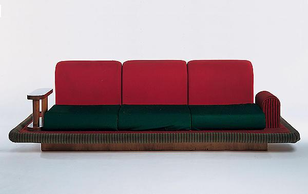Flying Carpet Couch, 1974 23 3/8 x 85 x 42 inches...