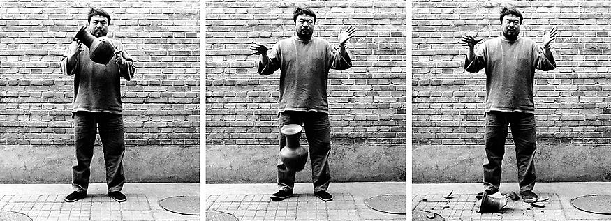 Dropping a Han Dynasty Urn, 1995/2009