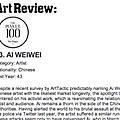 The Power 100: Ai Weiwei