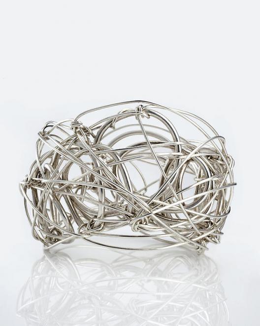 Forrest Myers [American, b. 1941 Wire Bracelet, 20...