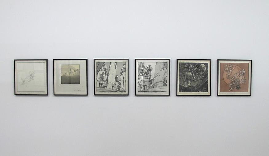 Lebbeus Woods: Early Drawings - Exhibitions