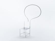 Manga Chair 44, 2015 Stainless Steel 70 x 42...