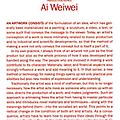 Ai Weiwei: Production Notes