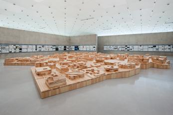 Ordos 100, 2011 Kunsthaus Bregenz Installation vie...