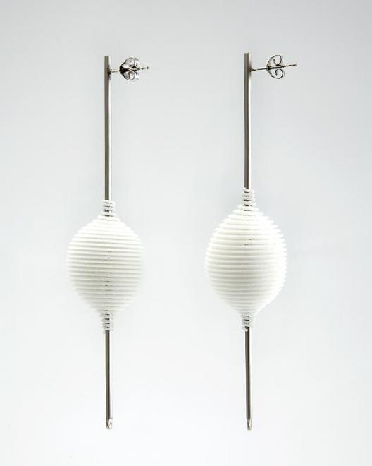 Ron Arad [b. 1951] Hot Ingo Earrings, 2003 Laser s...