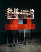 Cabinet no. 71, 2006 Amboyna burl, sycamore and ac...