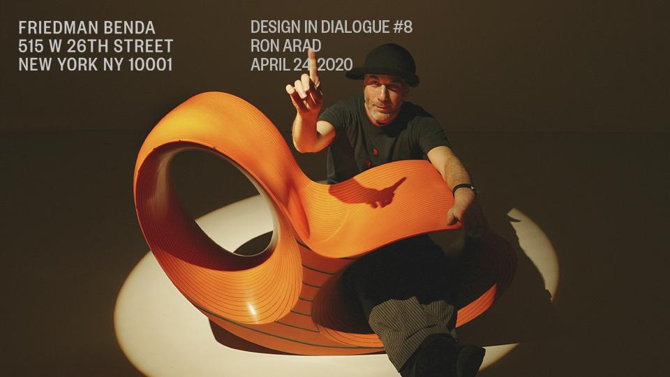 Episode 8: Ron Arad April 24, 2020...