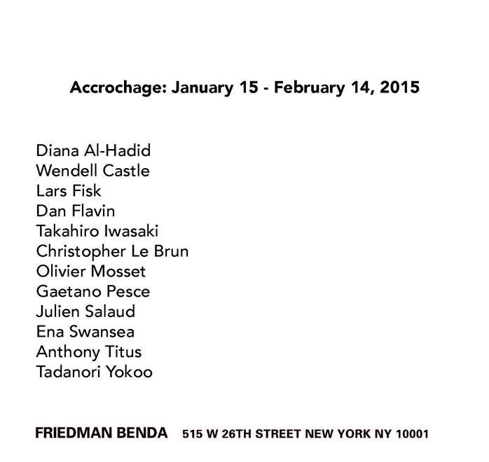 Accrochage - Exhibitions