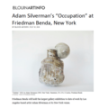 "Adam Silverman's ""Occupation"" at Friedman Be..."