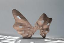 Butterfly Screen, 2016 3D Printed bronze 76.75 x 1...