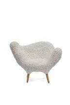 Arachnid White Chair, 2019 Woven velvet, Tauar&iac...