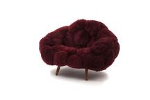 Bolotas Armchair (Cherry), 2019 Sheep's wool a...