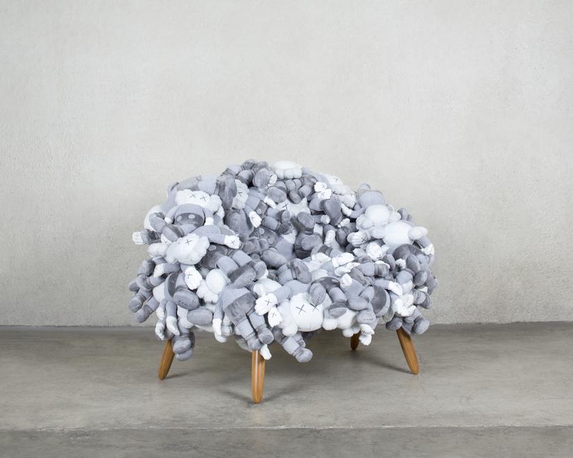 KAWS and Estudio Campana KAWS: Companion Chair (Gr...