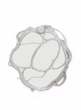 Ofidia Mirror,2015 Cast aluminum 44 x 44 x 2...