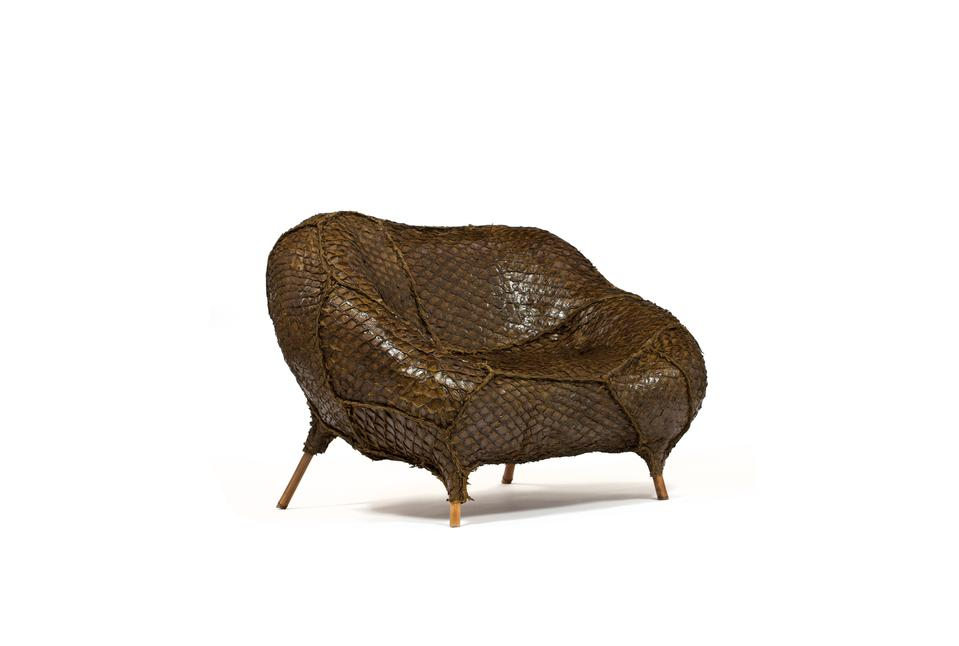 Pirarucu Armchair (Mermaid), 2015 Pirarucu le...