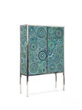Sushi Cabinet (Ocean), 2013 Carpet, rubber, EVA, f...