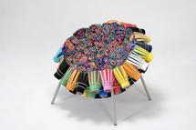 Sushi IV, 2003 Felt, textiles, plastic, EVA, paint...