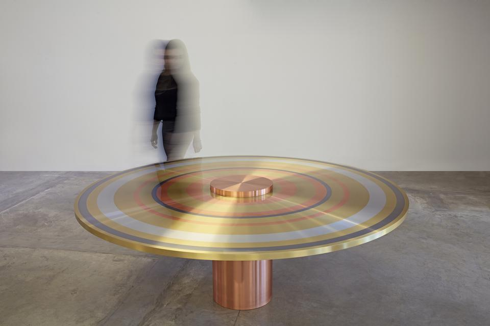Freeze Ring Table, 2015 &nbsp...