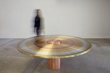 Freeze Ring Table, 2015 Aluminum, steel, brass and...