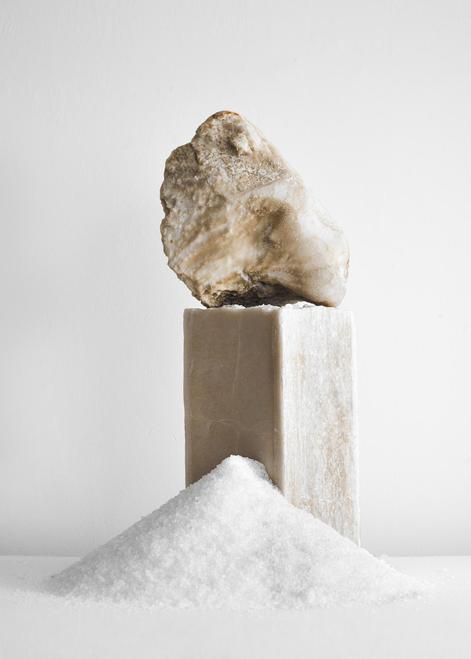 Salt blocks produced for Erez Nevi Pana,Crys...