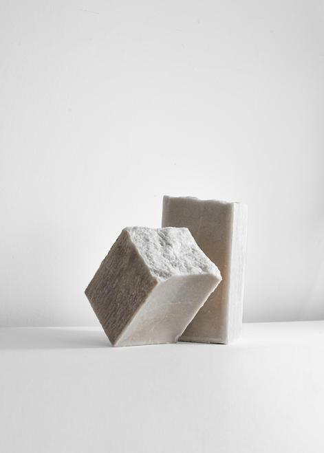 Salt block produced for Erez Nevi Pana,Cryst...