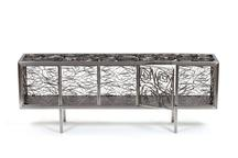 Fitas Buffet, 2012 Stainless steel 39.5 x 79 x 15....