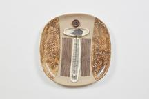 Untitled, 2003 Stoneware 15.5 x 15.25 x 1.5 inches...