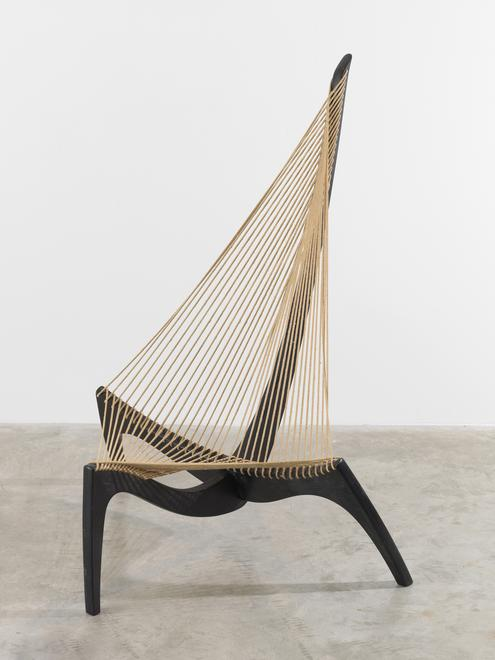 Jorden Hovelskov Harp Chair, ca. 1968 52 inches (a...