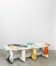 Heyerdahl Bench, 2014 Concrete and pigment 16.25 x...