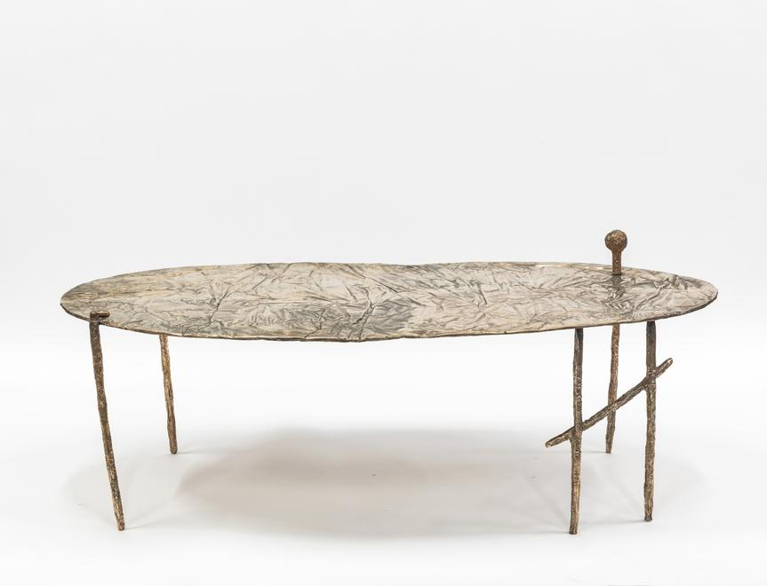 Coffee Table, 2015 Bronze 22.05 x 59.84 x 35.83 in...