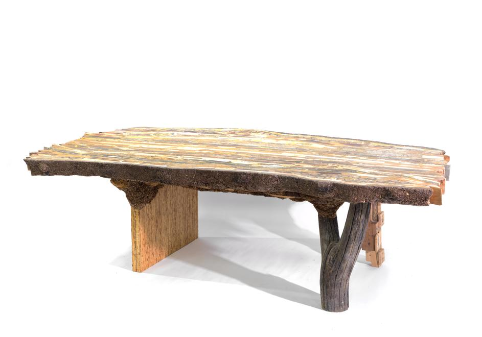 Wood Pig Table (Superior), 2016 Wood and wood prod...