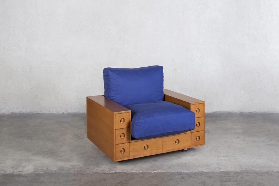 Shiro Kuramata [Japanese, 1934-1991] Furniture wit...