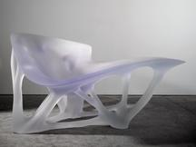 Bone Chaise, 2006 Polyurethane-based resin 58...
