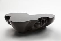 Dark Matter, 2013 Black marble resin 13.39 x 40.16...