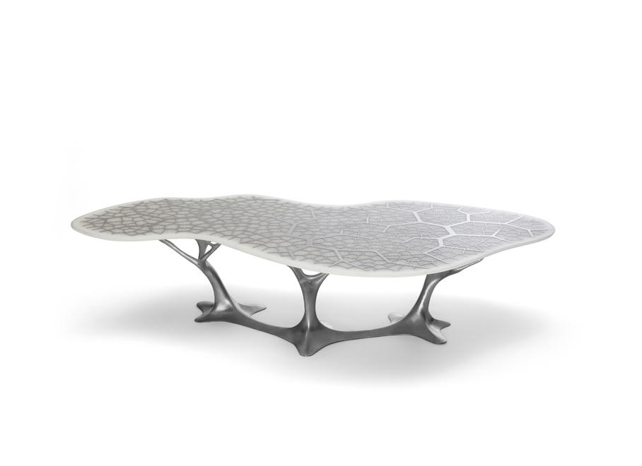 Forest Table 2 , 2011 Stainless Steel and Alu...