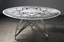 Leaf Table, 2011 Resin, Steel and Aluminum 29...