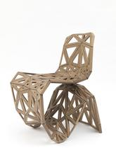 Maker Chair (Polygon), 2014 Oak 31.5 x 23.62 x 25....