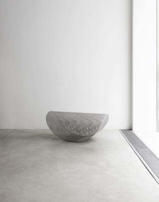 Leong Leong Light Rocker, 2018 Perforated stainles...