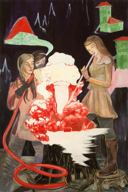 Rosa Loy [German, b. 1958] Bearbeitung (Processing...