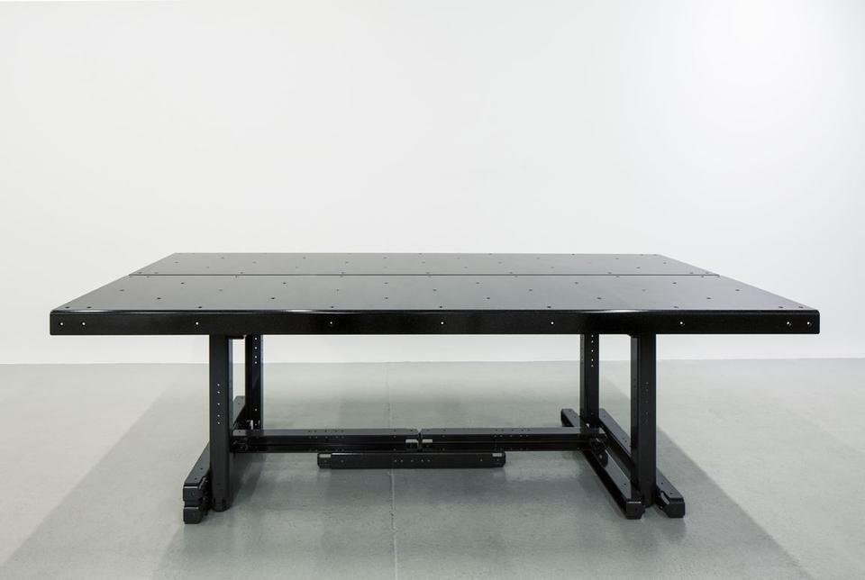 MOS Model Furniture No. 5 (Table), 2017 Powder-coa...