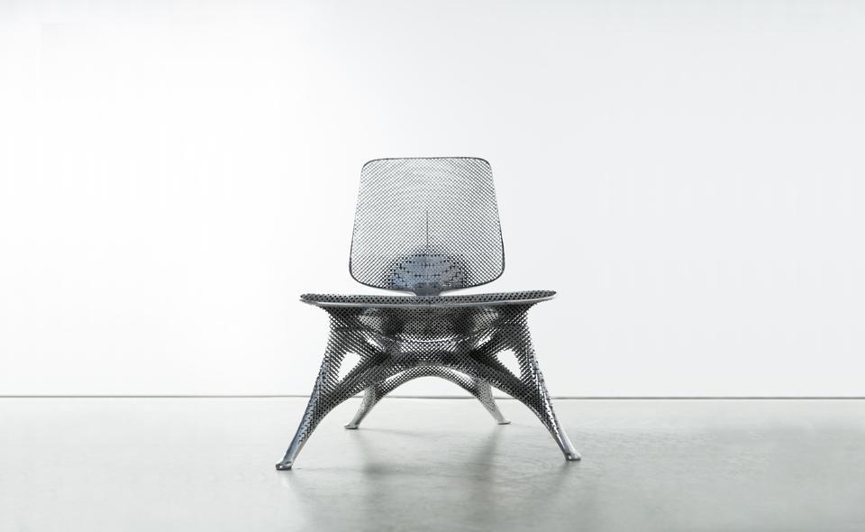 Microstructures Gradient Aluminum Chair, 2014 Alum...
