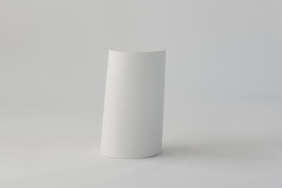 Fragment, 02, 2018 Plaster sand 21.75 x 12 x 12 in...