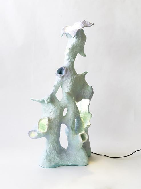 Blue Haliclona Sponge - Coral Floor Lamp Series, 2...